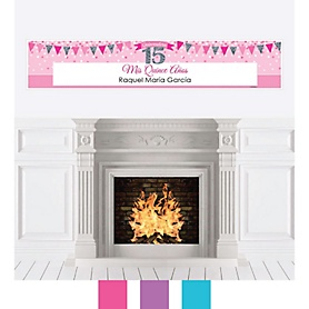 Quinceanera - Sweet 15 - Personalized Birthday Party Banners
