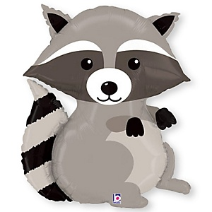 """Raccoon - Mylar Balloon - 36"""""""