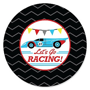 Let's Go Racing - Racecar - Baby Shower Theme