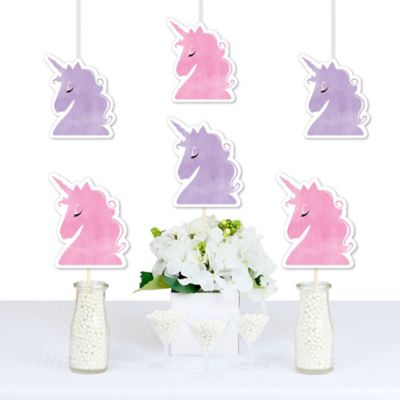 Rainbow Unicorn Decorations DIY Magical Unicorn Baby Shower or