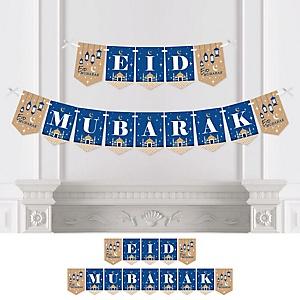 Ramadan - Eid Mubarak Bunting Banner - Party Decorations - Eid Mubarak