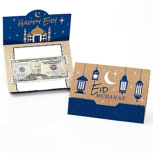 Ramadan - Eid Money And Gift Card Holders - Set of 8