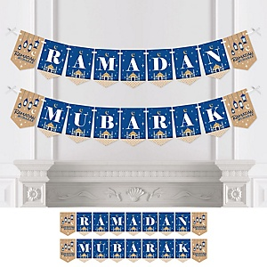 Ramadan Mubarak - Bunting Banner - Party Decorations - Ramadan Mubarak