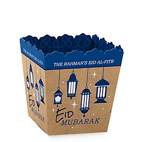 Ramadan - Party Mini Favor Boxes - Personalized Eid Mubarak Party Treat Candy Boxes - Set of 12