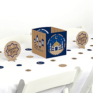 Ramadan - Eid Mubarak Centerpiece and Table Decoration Kit