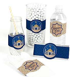 Ramadan - DIY Eid Mubarak Wrappers - 15 ct