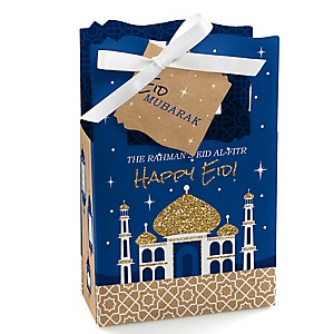 Ramadan - Eid Mubarak Gift Favor Boxes - Set of 12