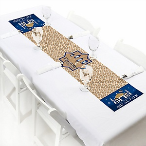 "Ramadan - Personalized Petite Eid Mubarak Paper Table Runner - 12"" x 60"""
