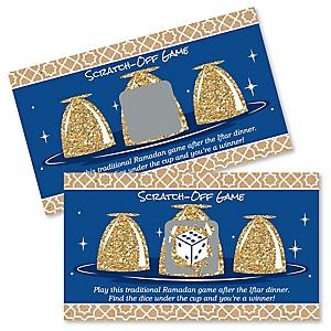Ramadan - Eid Mubarak Al Siniya Game Scratch Off Cards - 22 Count