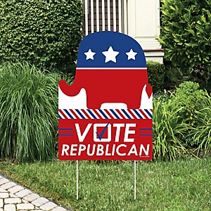 Republican Election - Party Decorations - Political 2020 Election Party Welcome Yard Sign