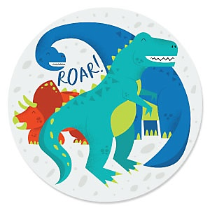 Roar Dinosaur - Dino Mite - T-Rex Party Theme