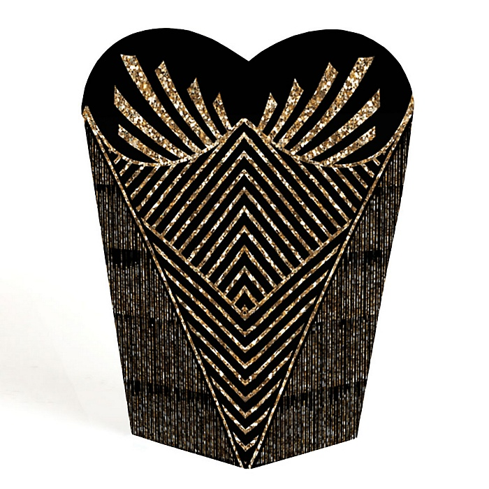 Roaring 20's - 1920s Art Deco Jazz Party Favors - Gift Favor Boxes for Women - 2020 Graduation Party - Set of 12