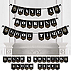 Roaring 20's - Personalized 1920s Art Deco Jazz Party Bunting Banner & Decorations