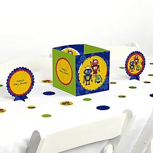 Robots - Baby Shower Centerpiece & Table Decoration Kit