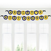 Robots - Personalized Baby Shower Garland Letter Banners