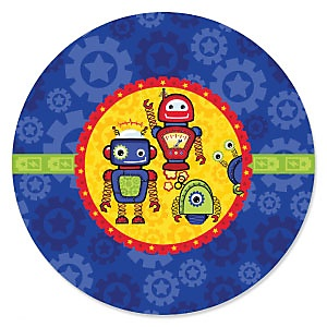 Robots - Baby Shower Theme
