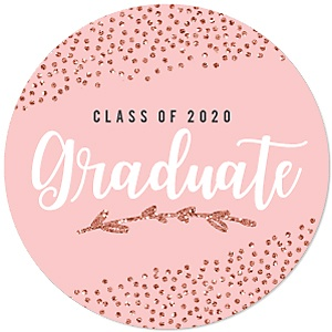Rose Gold Grad - Graduation Party Theme