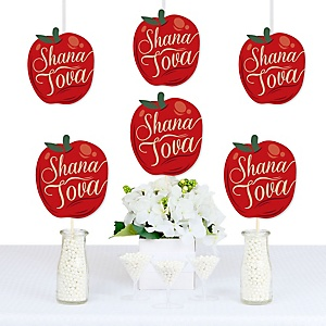 Rosh Hashanah - Apple Decorations DIY Jewish New Year Party Essentials - Set of 20