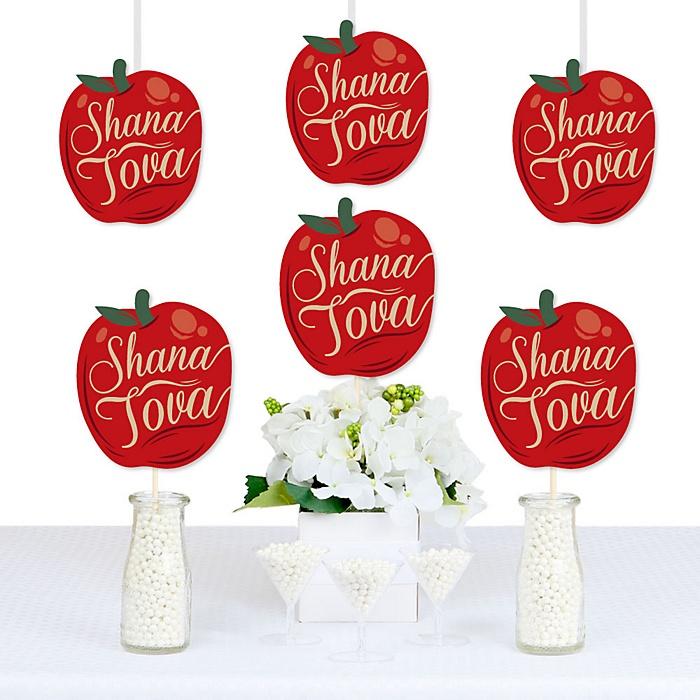 Rosh Hashanah - Apple Decorations DIY Jewish New Year Party Essentials - Set of 20