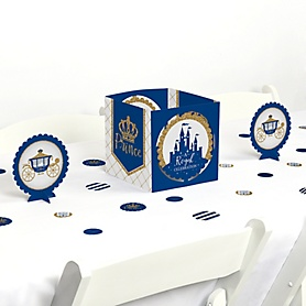 Royal Prince Charming - Baby Shower or Birthday Party Centerpiece and Table Decoration Kit