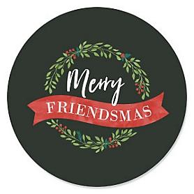 Rustic Merry Friendsmas - Friends Christmas Party Theme