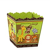 Funfari™ - Fun Safari Jungle - Personalized Baby Shower Candy Boxes