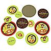 Funfari™ - Fun Safari Jungle - Personalized Baby Shower Table Confetti - 27 ct