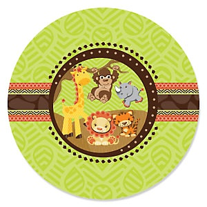 Funfari™ - Fun Safari Jungle - Baby Shower Theme