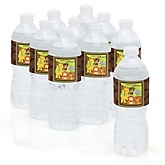 Funfari™ - Fun Safari Jungle - Personalized Party Water Bottle Sticker Labels - Set of 10