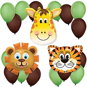 Funfari™ - Fun Safari Jungle - Baby Shower Balloon Kit