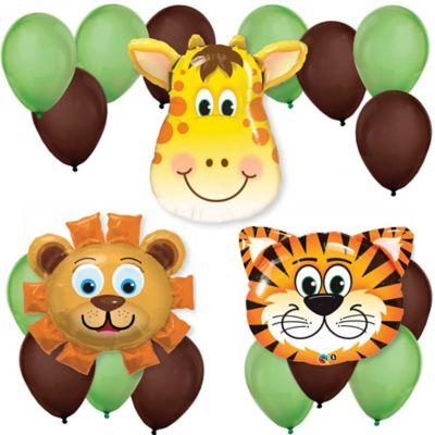 Funfari™   Fun Safari Jungle   Baby Shower Balloon Kit