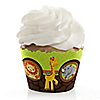 Funfari™ - Fun Safari Jungle - Birthday Party Cupcake Wrappers & Decorations
