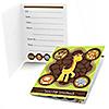 Funfari™ - Fun Safari Jungle - Birthday Party Fill In Invitations - 8 ct