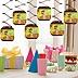 Funfari™ - Fun Safari Jungle - Baby Shower Hanging Decorations - 6 ct