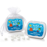 Under The Sea Critters - Personalized Baby Shower Mint Tin Favors