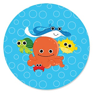 Under The Sea Critters - Baby Shower Theme