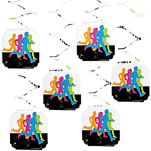 Set The Pace - Running - Track, Cross Country or Marathon Hanging Decorations - 6 ct