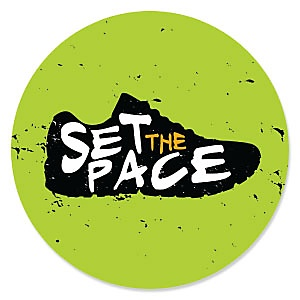 Set The Pace - Running - Birthday Party Theme