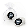 Tassel Worth The Hassle - Silver - Personalized Graduation Lip Balm Favors - Set of 12