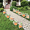 Let's Hang - Sloth - Forest Animal Lawn Decorations - Outdoor Baby Shower or Birthday Party Yard Decorations - 10 Piece