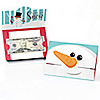 Let It Snow - Snowman - Set of 8 Holiday & Christmas Party Money And Gift Card Holders