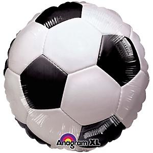 Championship Soccer - Baby Shower Mylar Balloon