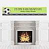 GOAAAL! - Soccer - Personalized Baby Shower Banners
