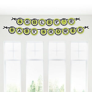 GOAAAL! - Soccer - Personalized Baby Shower Garland Letter Banners