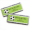 GOAAAL! - Soccer - Personalized Candy Bar Wrappers Birthday Party Favors - Set of 24