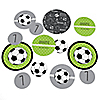 GOAAAL! - Soccer - Personalized Birthday Party Table Confetti - 27 ct