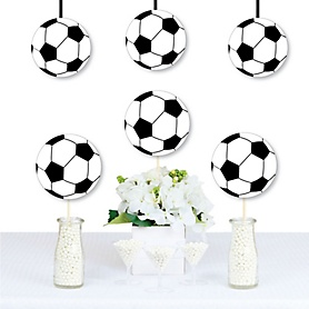 GOAAAL! - Soccer - Decorations DIY Baby Shower or Birthday Party Essentials - Set of 20