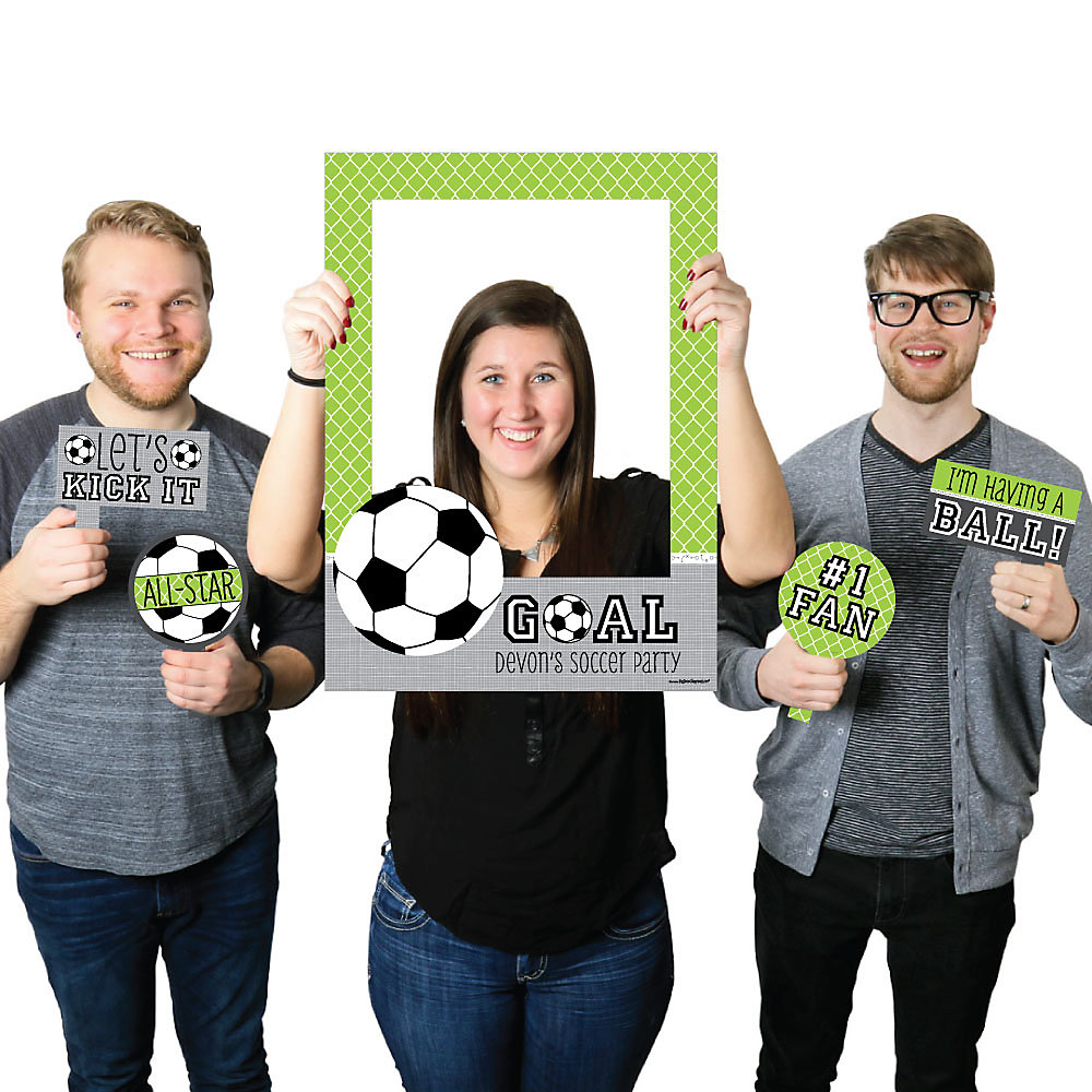 Goaaal soccer personalized birthday party or baby shower loading jeuxipadfo Images