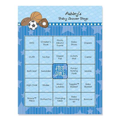 Baby Shower Bingo Games Bigdotofhappiness