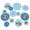 All Star Sports - Personalized Baby Shower Table Confetti - 27 ct